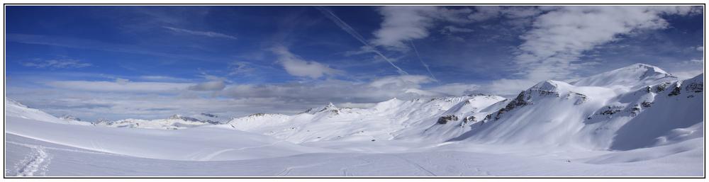 """Schneeschuhwandern in den Fideriser Heubergen """"1"""""""