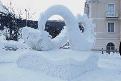 Schneeskulpturen Festival Grindelwald 2016