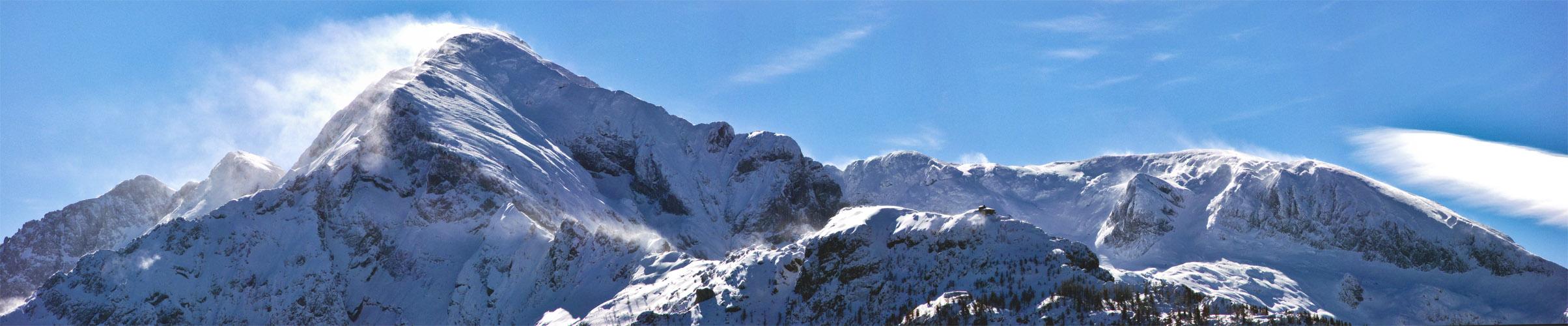 """""""Schneesturm auf dem Hohen Göll"""""""