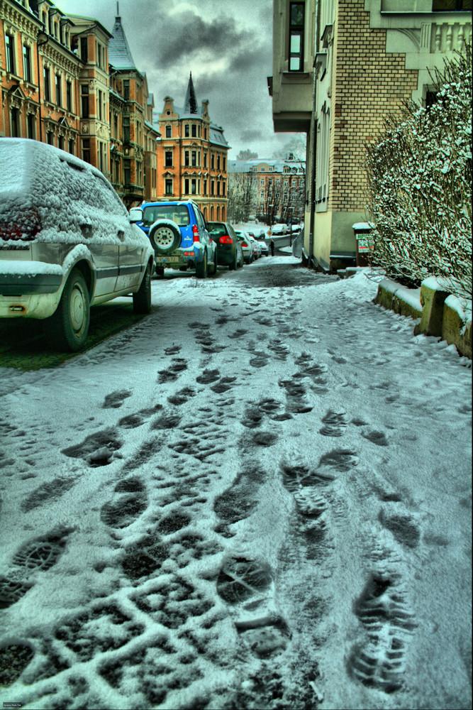 SchneeÜberraschung...