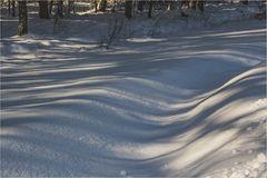 Schneeverwehung auf Usedom Februar 2018