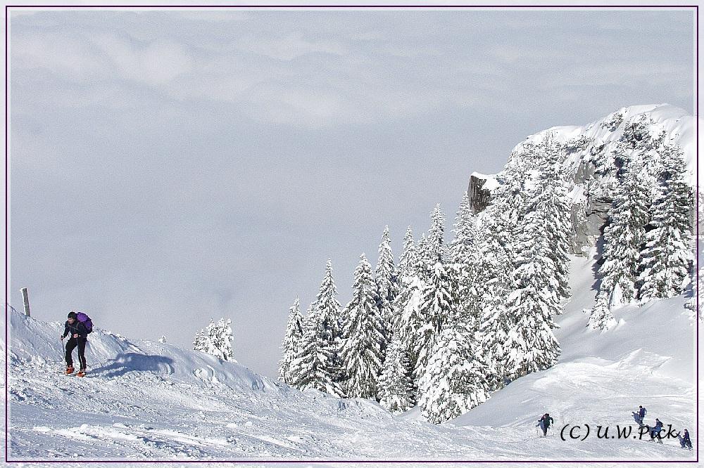 Schneewandern
