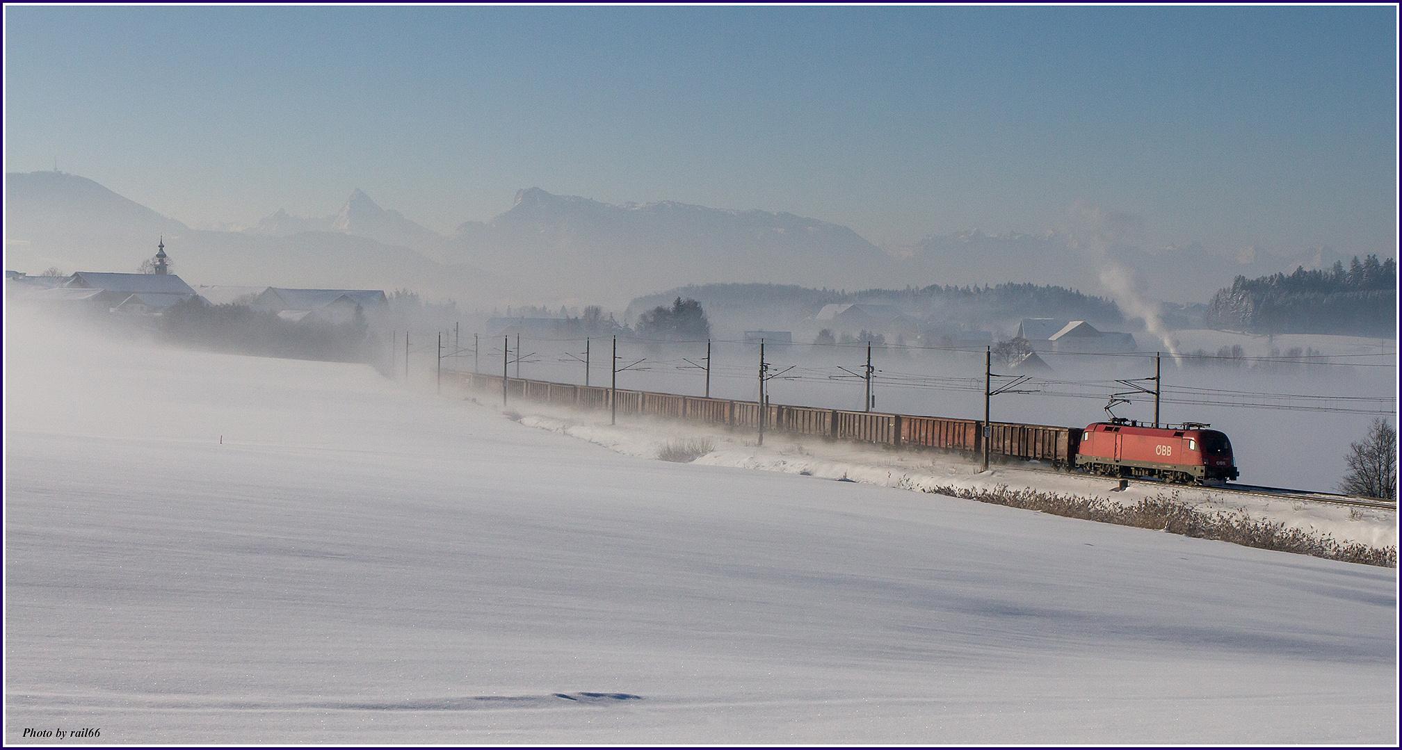 Schneewandern in Salzburg I