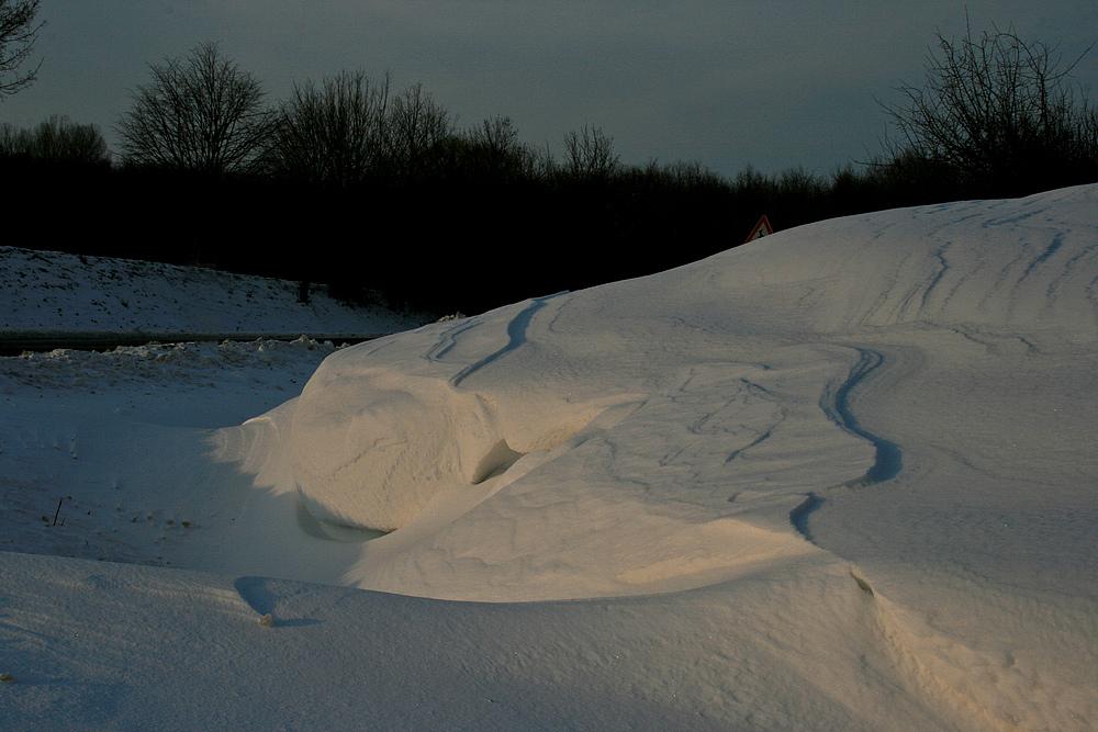 Schneewehen......