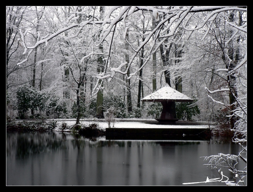 Schneeweiß und einsam