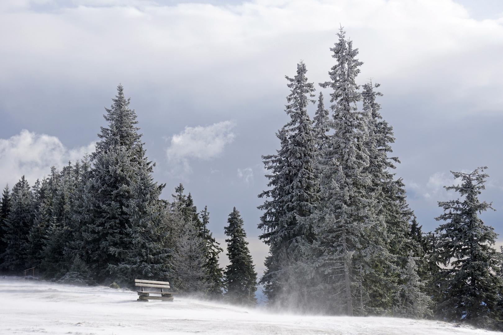Schneewirbel