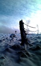 Schneewüste