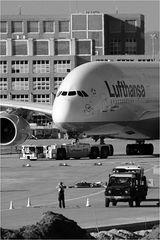 Schnell noch ein Bild vom A380
