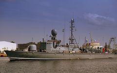 """Schnellboot FGS S 75 """"Zobel"""" [EinsFlt.1-7.Schnellbootgeschwader]...."""