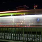 Schnelle Strassenbahn in Freiburg
