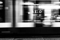 Schnelle Tram in Amsterdam