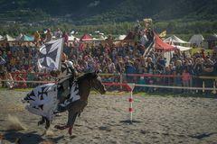 Schneller Ritt bei den Südtiroler Ritterspielen