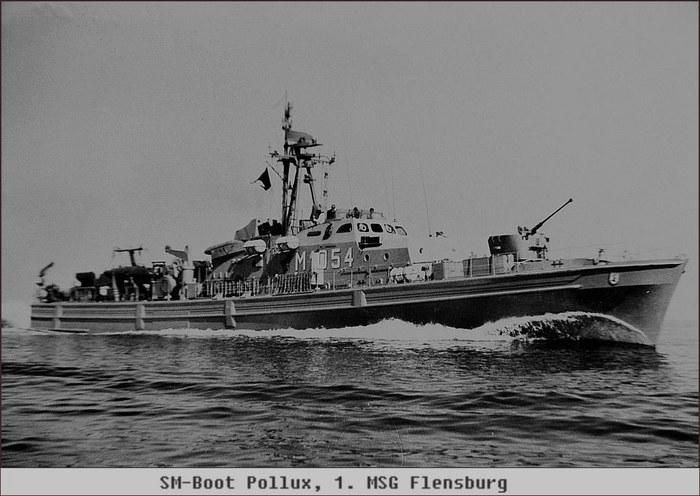 Schnelles Minensuchboot Pollux