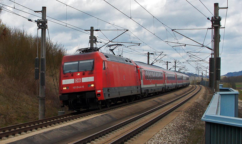 Schnellfahrstrecke Nürnberg - München