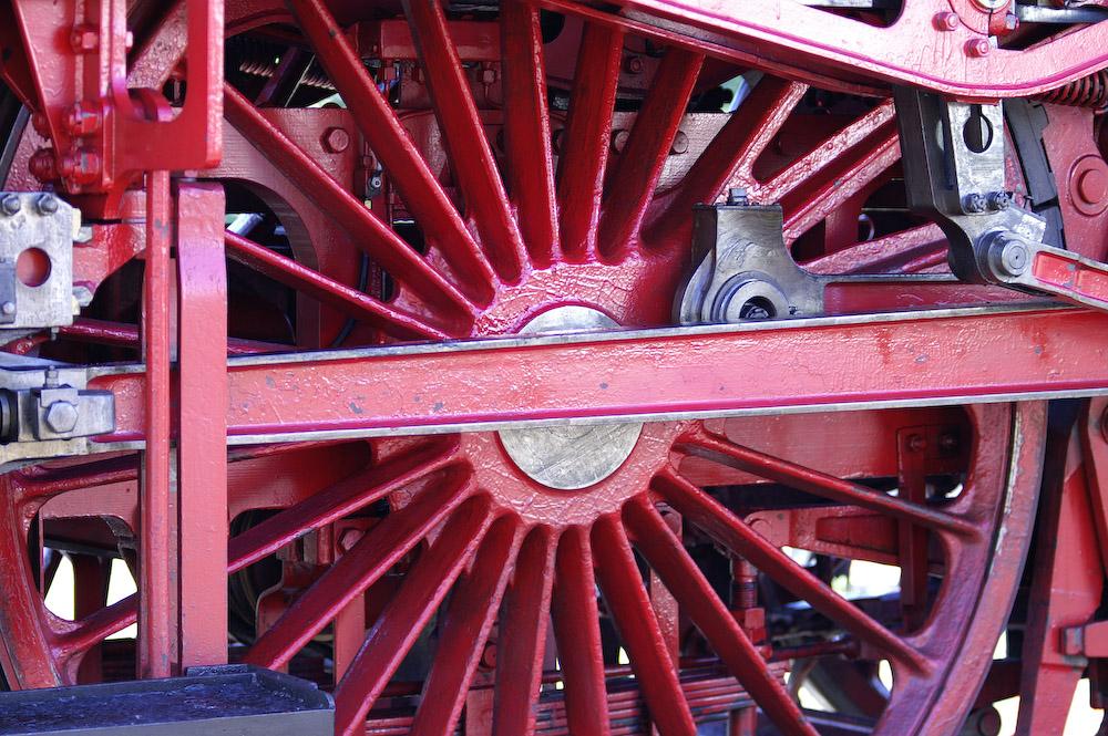 Schnellzugdampflokomotive 18201 - Radsatz