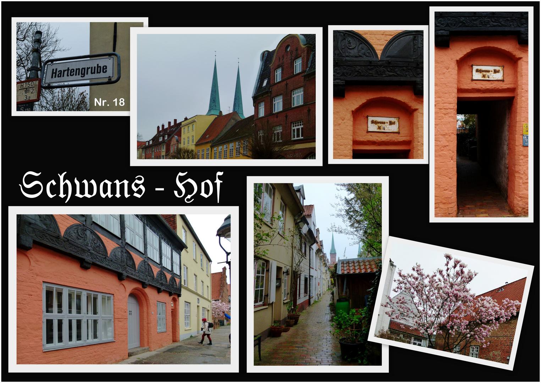 Schnitzeljagd durch Lübeck