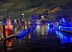 Schön ist es am Abend im Hafen