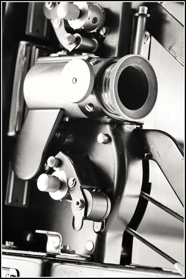 Schön war die Zeit - Klassischer Siemens-Filmprojektor 16mm
