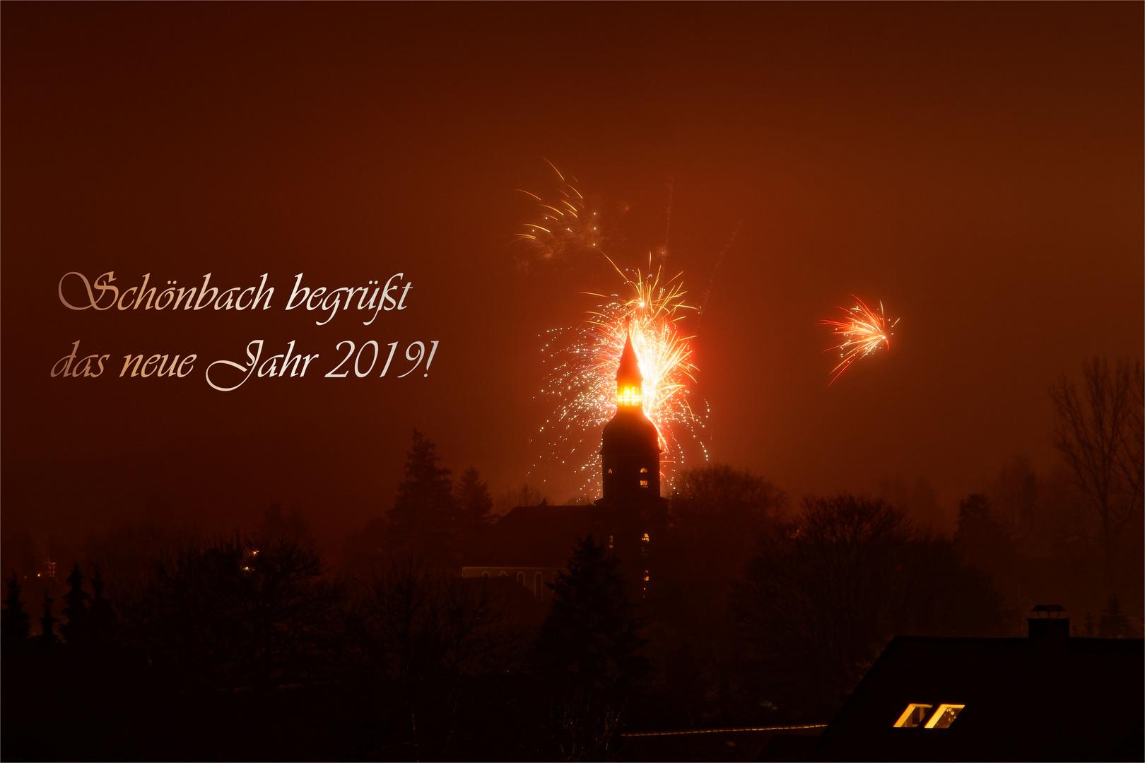Schönbach begrüßt 2019