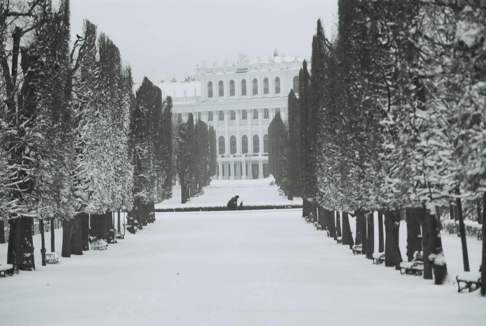 Schönbrunn im Winter_2