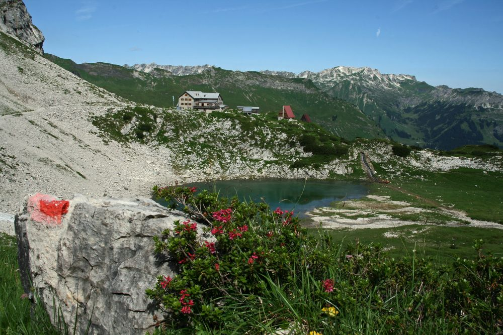 Schöne Allgäuer Alpen