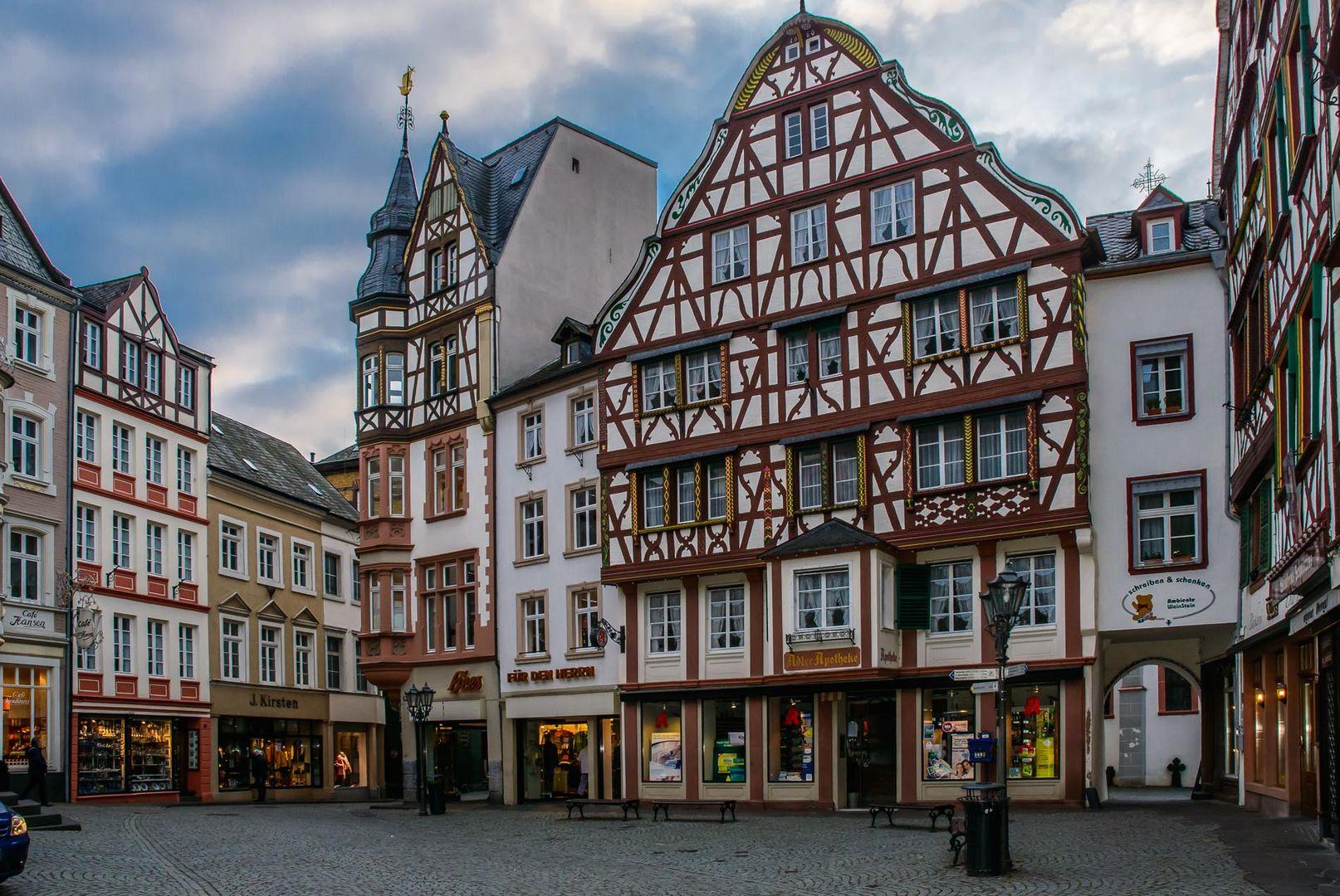 Schöne alte Fachwerkhäuser