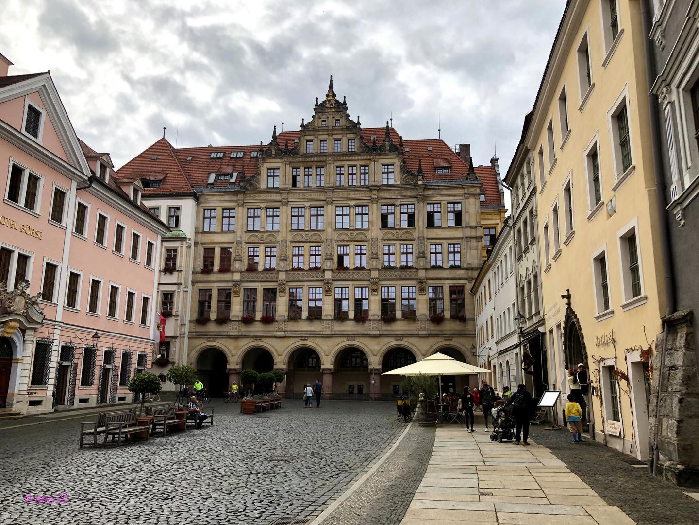 Schöne alte Häuser in Görlitz