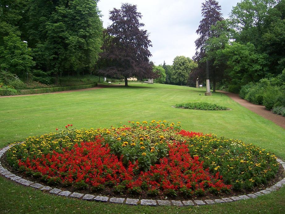 Schöne Blumen In Bad Helmstedt Foto Bild Landschaft Garten