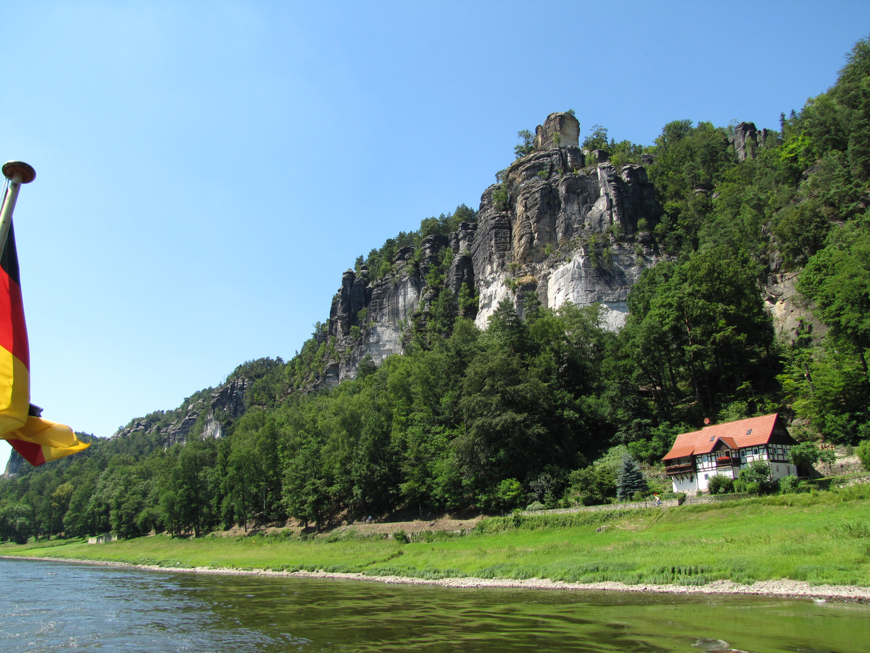 schöne Elblandschaft in der sächs. Schweiz