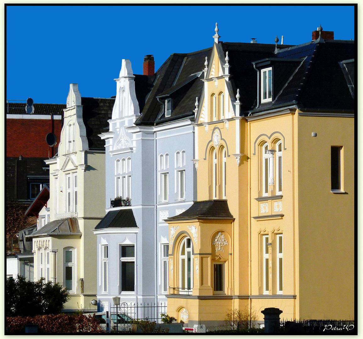 Schöne Fassaden Foto & Bild
