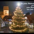 Schöne Feiertage und alles Gute für das neue Jahr