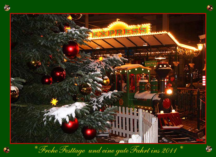 *Schöne Festtage und ein guter Rutsch ins 2011*