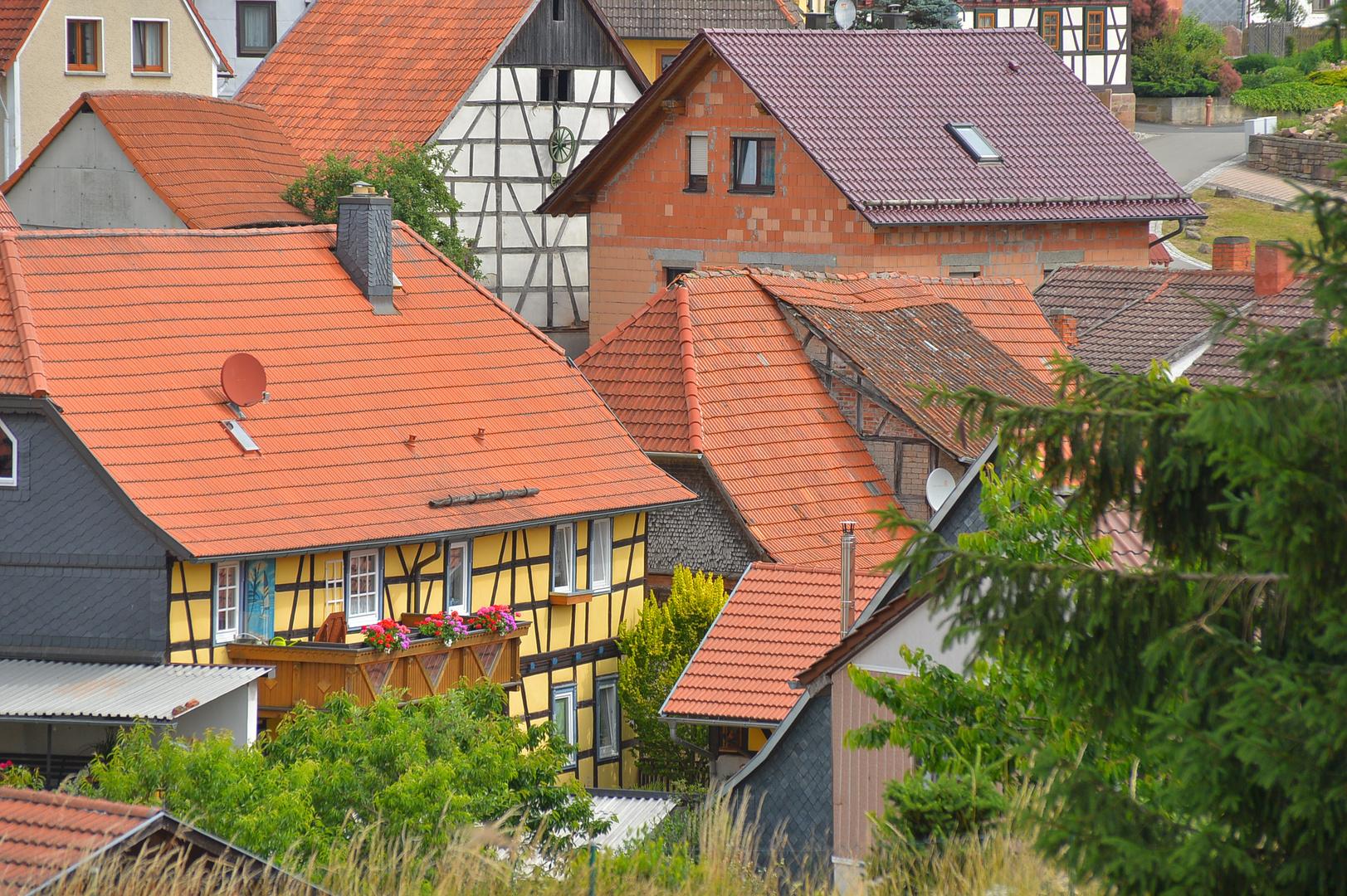 schöne Häuser (casas bonitas)