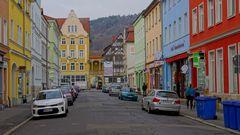 schöne Häuser in Meiningen (casas bellas en Meiningen)