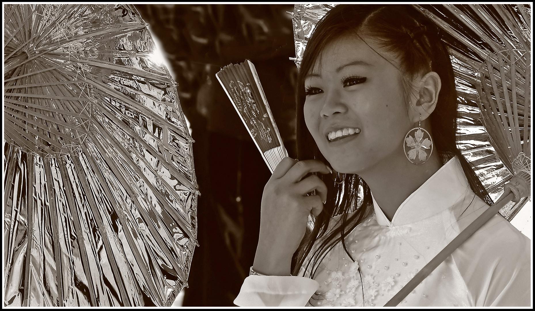 Schöne Vietnamesin