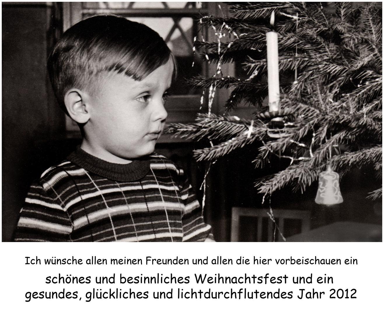 Schöne Weihnacht und ein gesundes Neues Jahr Foto & Bild ...