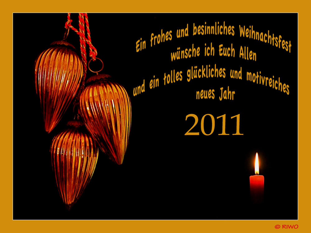 schöne Wünsche an alle der FC......