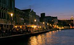 Schöner Abend in Venedig