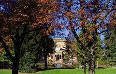 Schöner Herbsttag in Freiburg