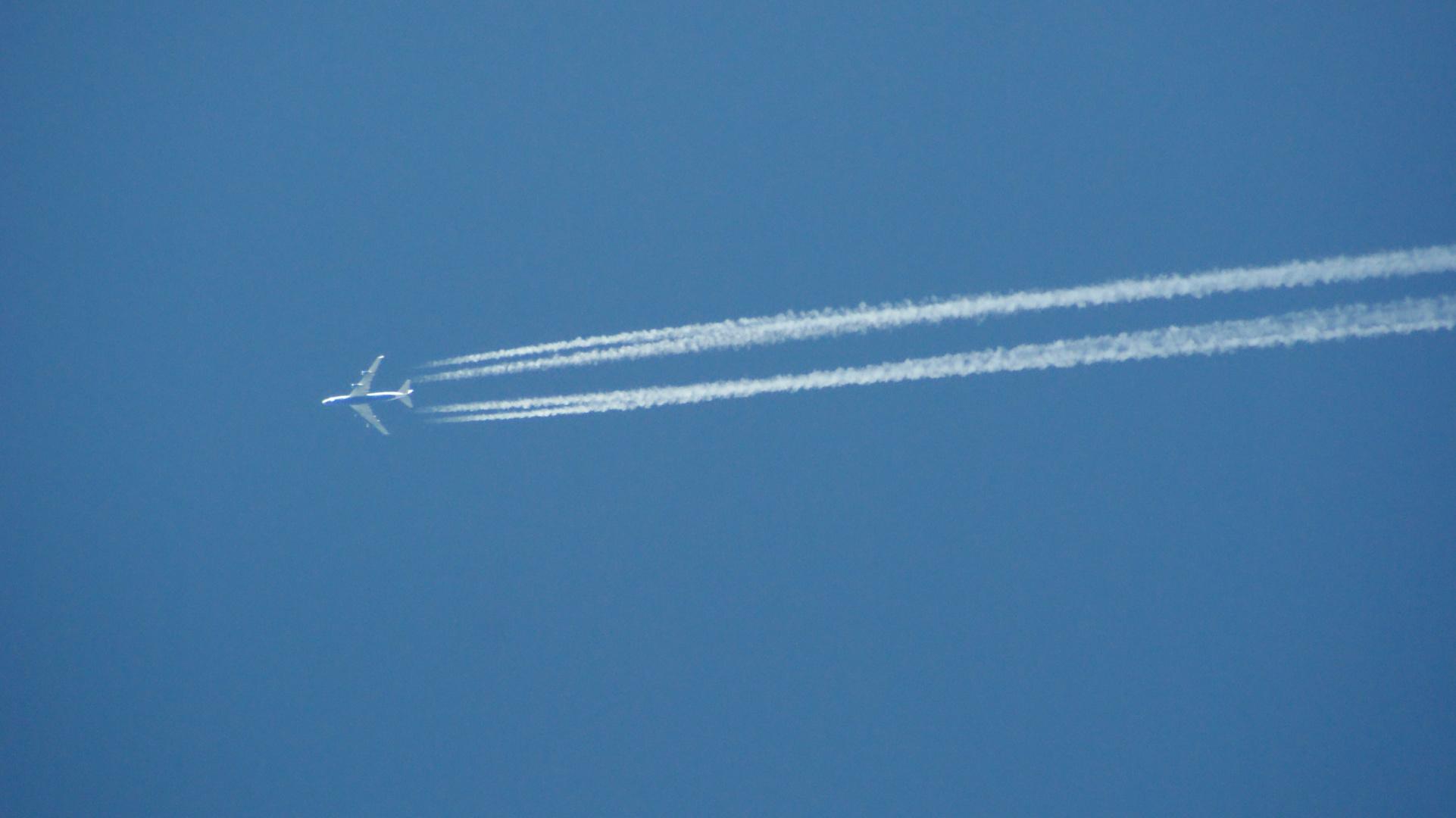 Schöner Tag zum fliegen