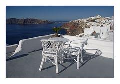 Schöner wohnen in Santorini