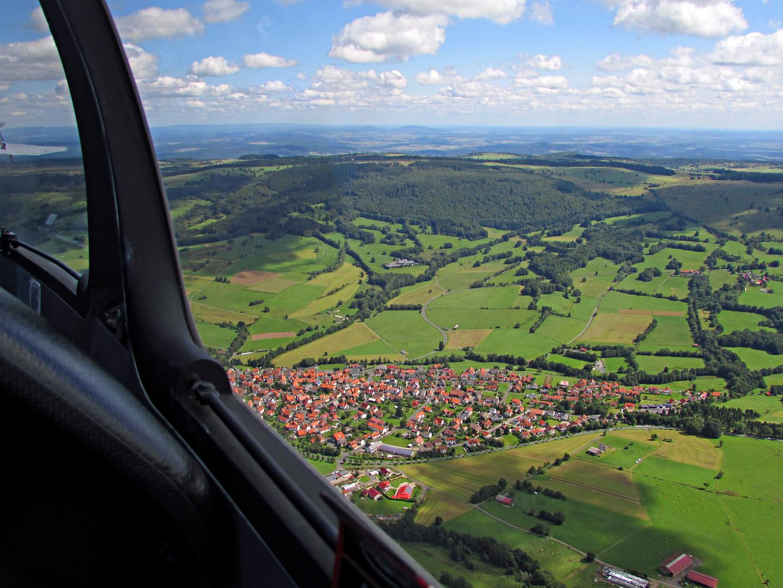 Schönes Hessen: Rhön-Rundflug 1