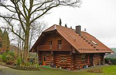 Schönes Landhaus überwiegend Holzbauweise