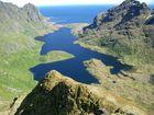 Schönes Panorama auf den Lofoten