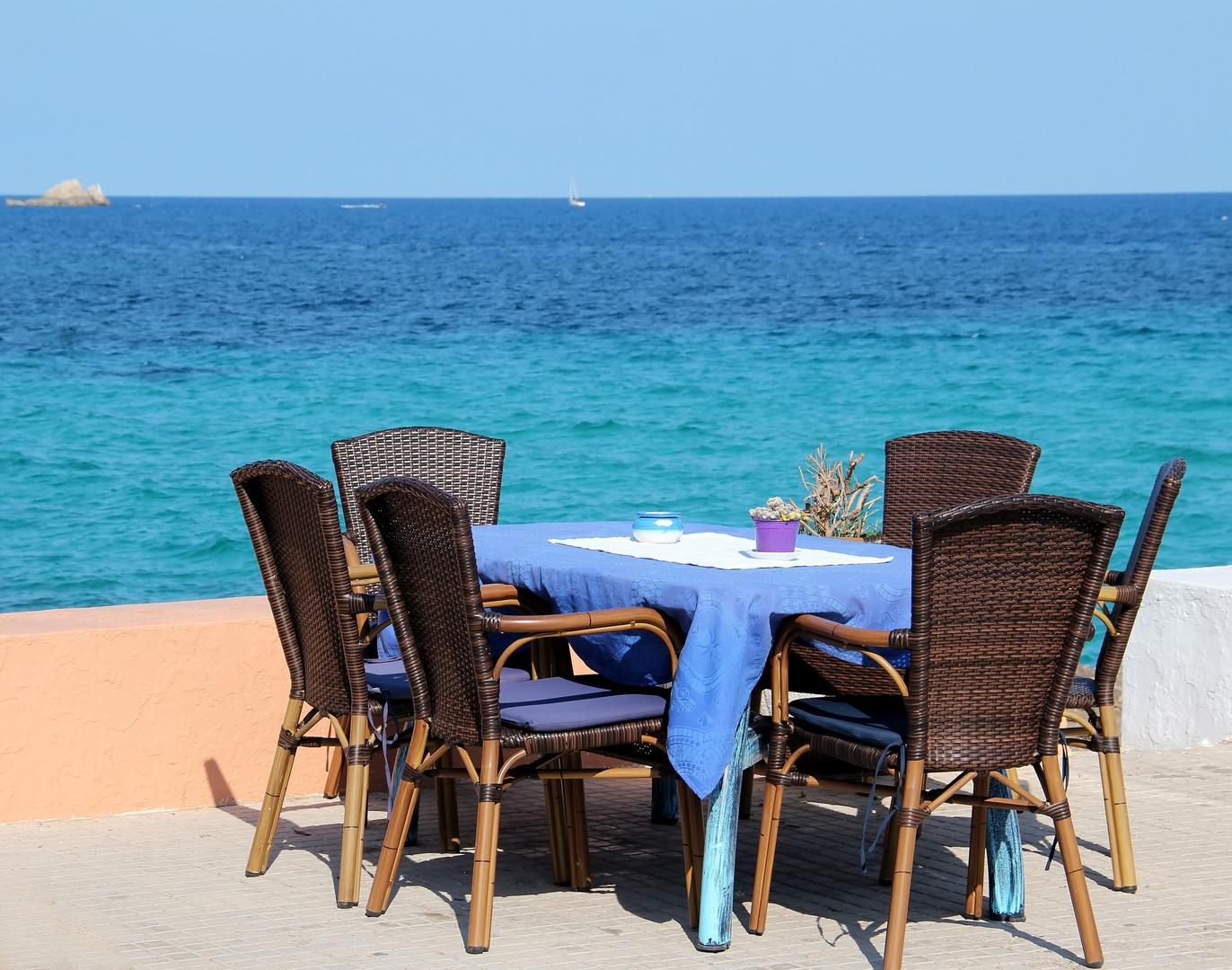Schönes Plätzchen am Mittelmeer
