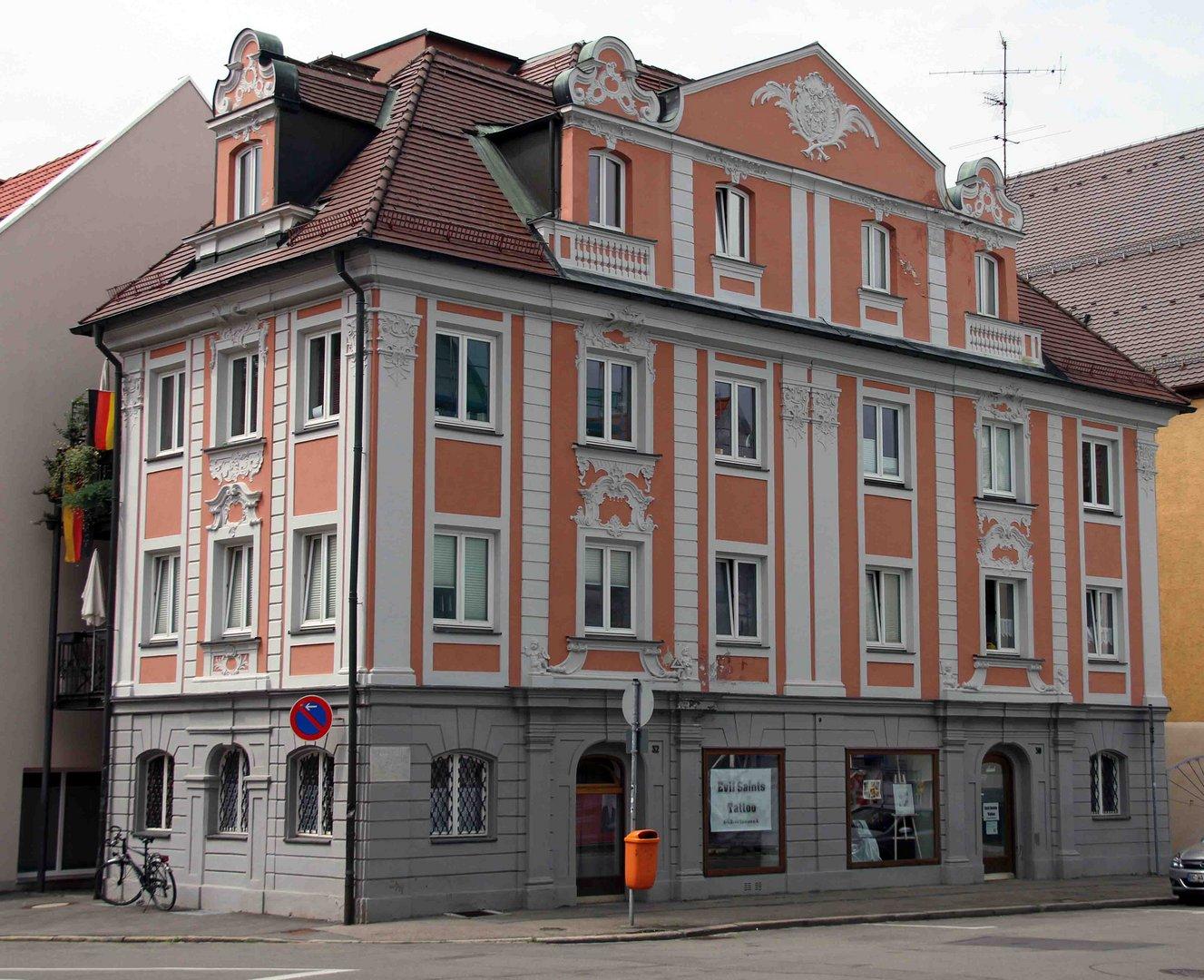 Schönes Wohnhaus in der Stadt Memmingen