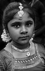 Schönheit in klassischem schwarz-weiß