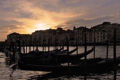 Schönste Zeit des Tages in Venedig