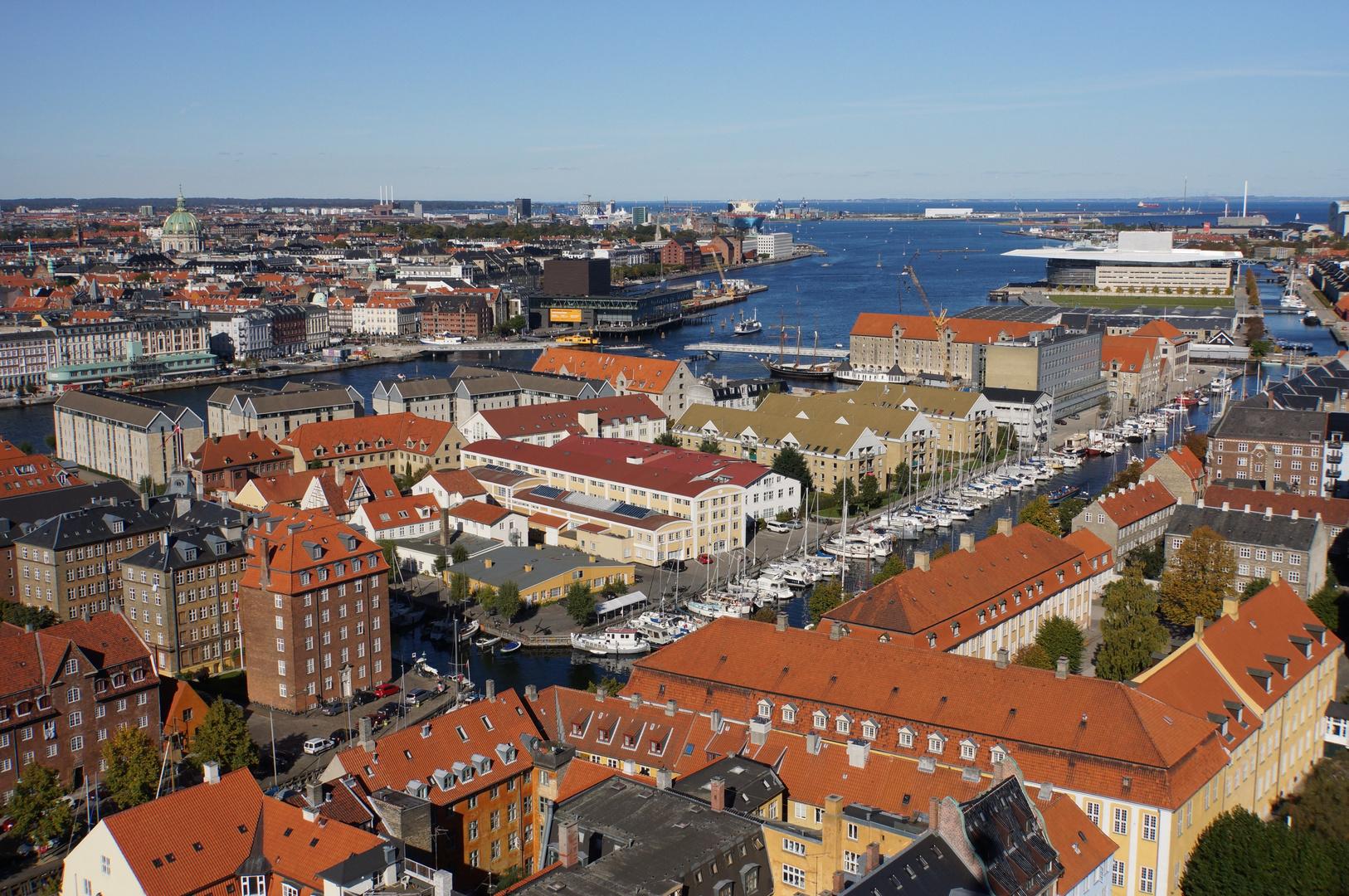 schönster Blick auf Kopenhagen