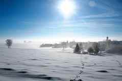 Schönstes Winterwetter